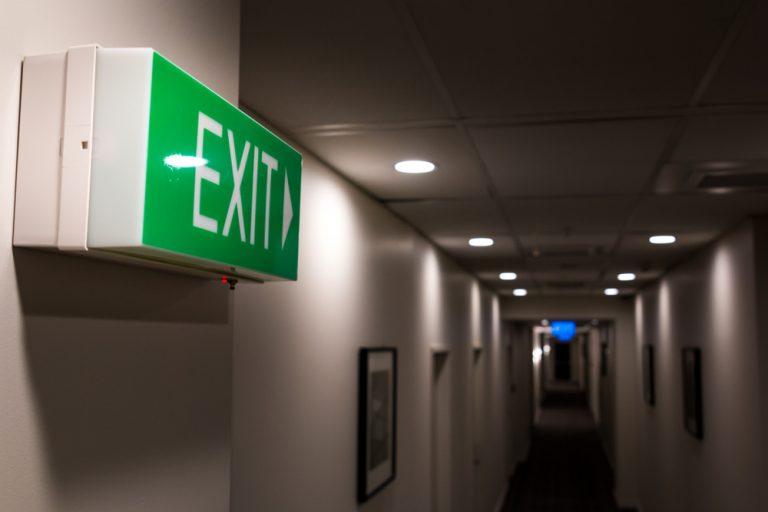 exit sign electrics
