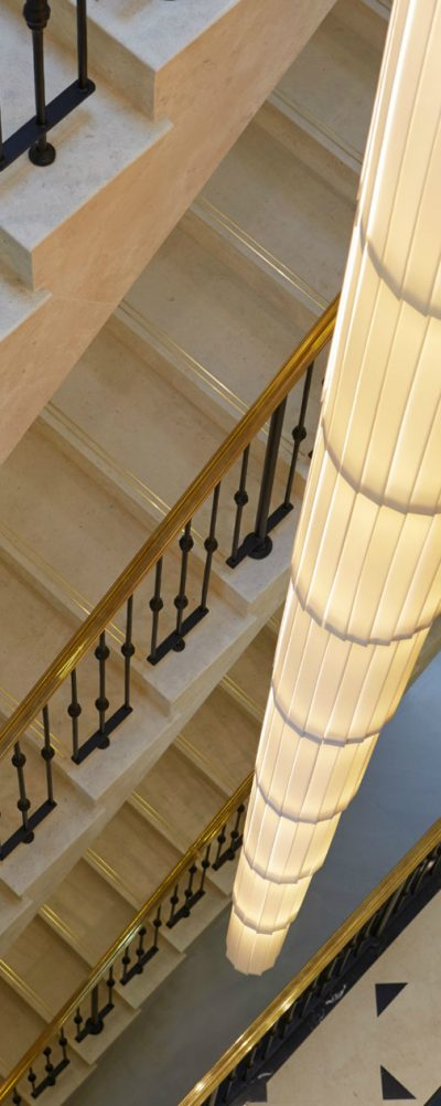 tall stair light